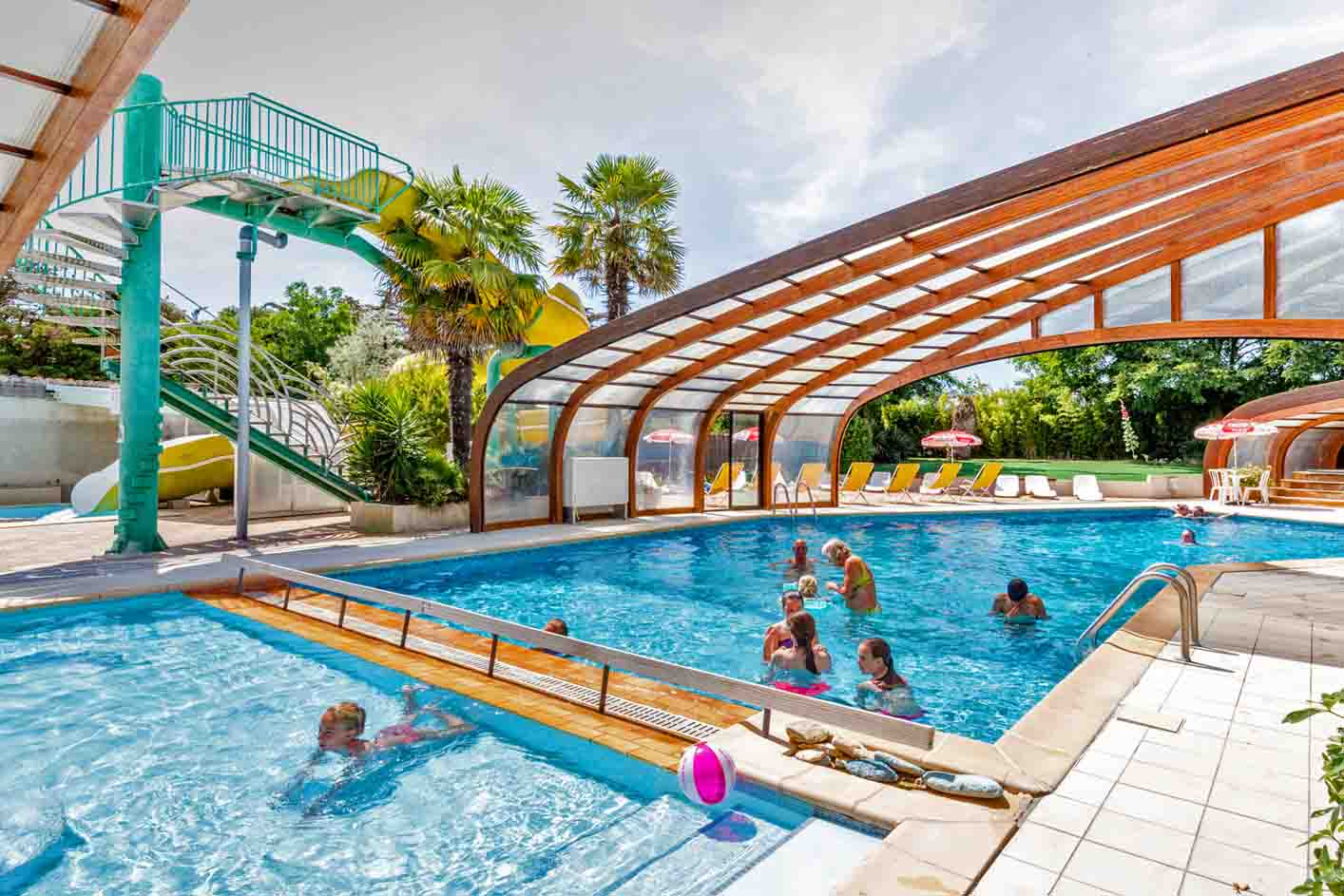 Camping ile d oleron avec piscine couverte et chauffee - Camping ile de re avec piscine couverte ...