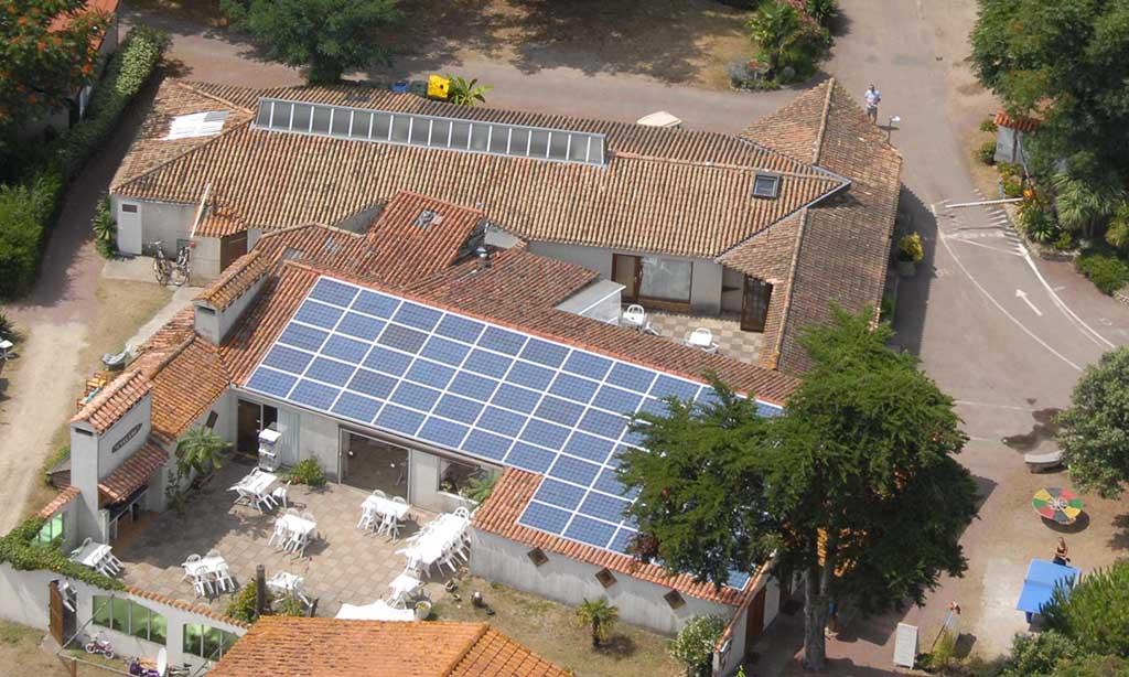 photovoltaique camping economies développement durable